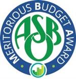 Meritorious Budget Award logo
