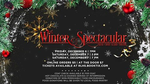 Graphic of Winter Spectacular