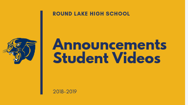 Daily Announcements - Student Videos
