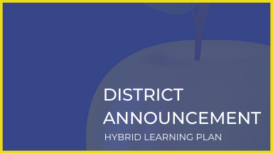 1/15/2021: Hybrid Learning Update for RLAS-116 Families