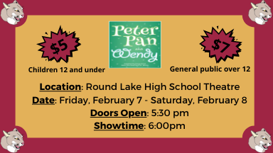 Spring Play: Peter Pan and Wendy!