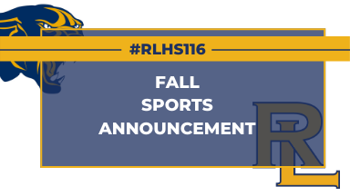RLHS Announcement Graphic