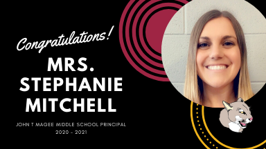 Congratulations Mrs.Mitchell, Our New Building Principal!