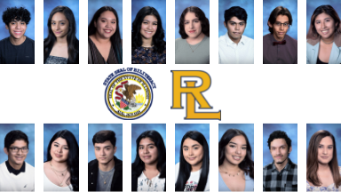 Seniors who achieved Seal of Biliteracy